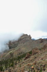 Cloudy Day in El Teide National Park