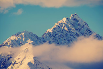 Glacial Mountains Instagram Style