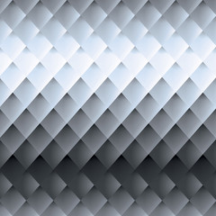 Retro background, pattern rhombs, transition from light to dark