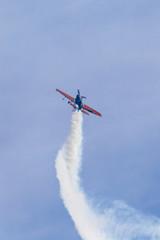 Kick off - airplane