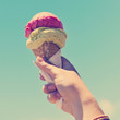 Gelati Ice Cream Cone Instagram Style - 69618228