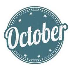 October stamp