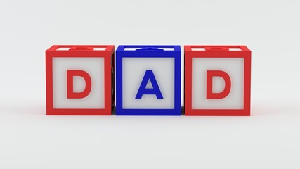 Play blocks - Dad