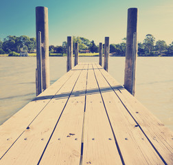 Murray River Jetty Instagram Style