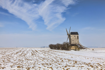 Winter Countryside Landscape