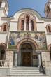 canvas print picture - Orthodoxe Kirche Aghia Triada in Aghios Nikolaus, Kreta