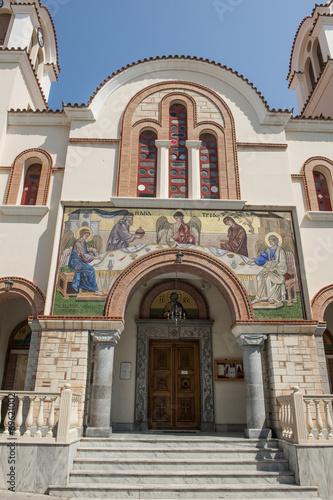 canvas print picture Orthodoxe Kirche Aghia Triada in Aghios Nikolaus, Kreta