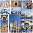Milan - photo memories collage