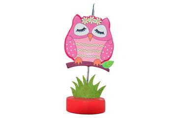 Pinch Paper Owl Model