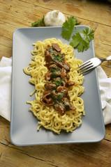 Pasta gramigna con porcini Kuchnia włoska Expo Milano 2015