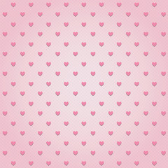 Pink hearts background1