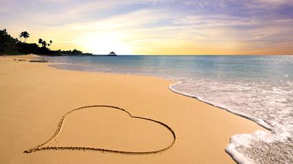 Hearth on the beach