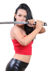 woman samurai