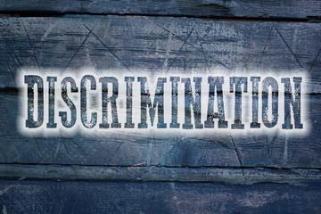 Discrimination Concept