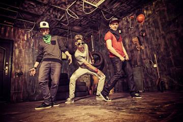 dancing hip-hop