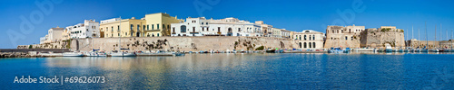 Gallipoli, panoramic view - Salento, Italy