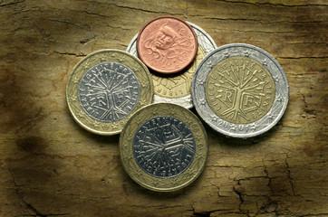 Pièces en euro de la France Монеты евро Франции