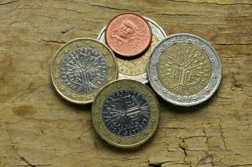 Pièces en euro de la France Französische Euromünzen 法國的歐元硬幣