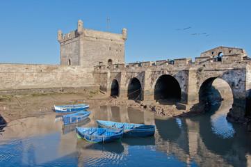 Mogador fortress building at Essaouira, Morocco
