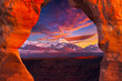 La Sal Mountains, Seen Through Delicate Arch - 69626682