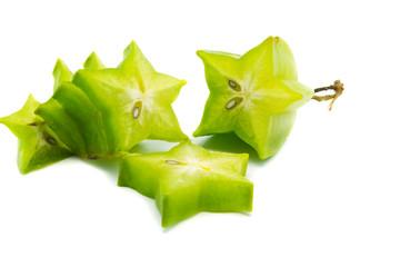 fresh starfruit