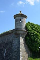 Echauguette (fort vauban) à Saint-Vaast-La-Houge (Normandie)