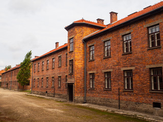 Brick barracks