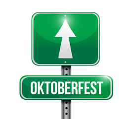 Oktoberfest sign illustration design