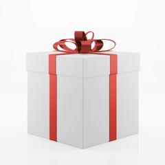 Geschenk in Box zu Weihnachten