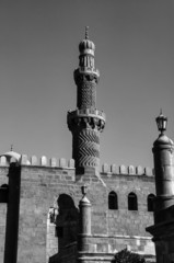 Egypt, Cairo, view of the Mohamed Aly Mosque - FILM SCAN