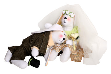 Rabbits newlyweds