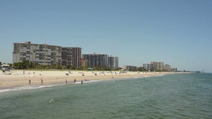 Sandy beach in Florida