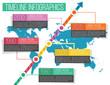 Vector Timeline Infographics 05