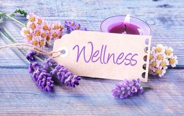 Pretty floral Wellness background