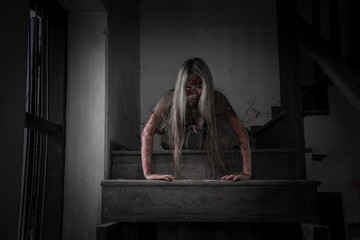 Scary Maid ghost story of a haunted house
