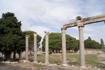 The former house in Ephesus
