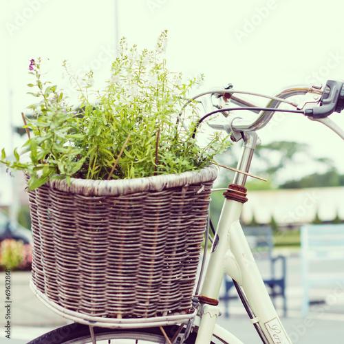 Fototapeta Bicycle - instagram filter