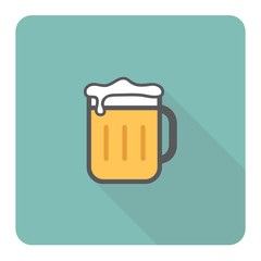Beer icon. Vector Illustration