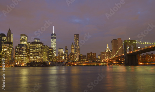 New York skyline by night © katy_89