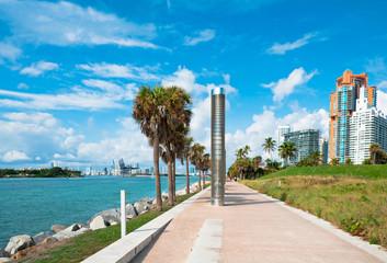 Park South Pointe in Miami Beach, Florida