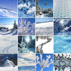 Collage - Winterzeit