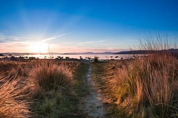 Sunrise at Mono Lake, California, USA