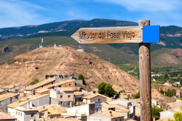 Bolea Village in La Hoya, Huesca