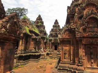 valle dei templi di Ankor- Banteay Srei