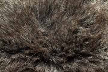 Luxurious wool texture.