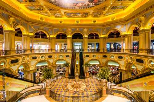 The Venetian Hotel, Macao - The famous shopping mall, luxury hot