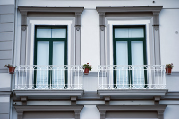 Old balconies