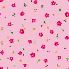 Small flower pattern seamless