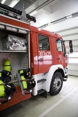Fire brigade from Poland
