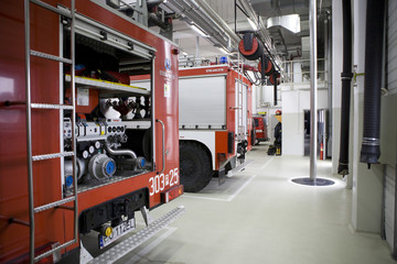 Fire brigade from Poland